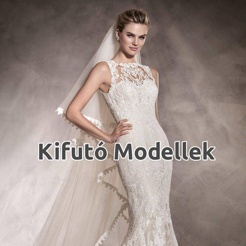 Kifutó Modellek esküvői ruha kollekció