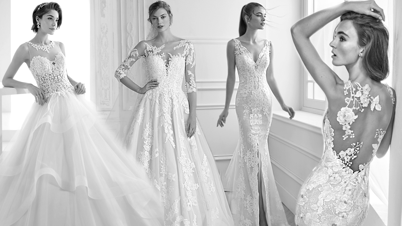 >Menyasszonyi ruha kölcsönzés: Pronovias, Rosa Clará esküvői ruhák