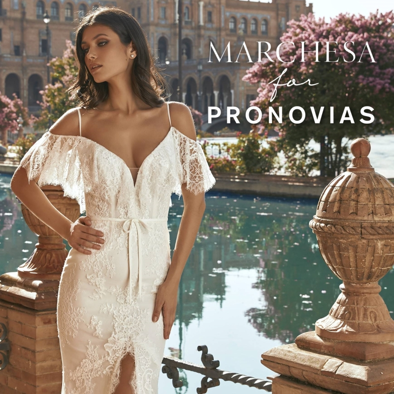 Marchesa For Pronovias esküvői ruha kollekció