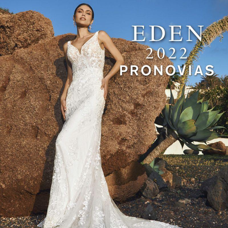 Pronovias 2022 EDEN esküvői ruha kollekció