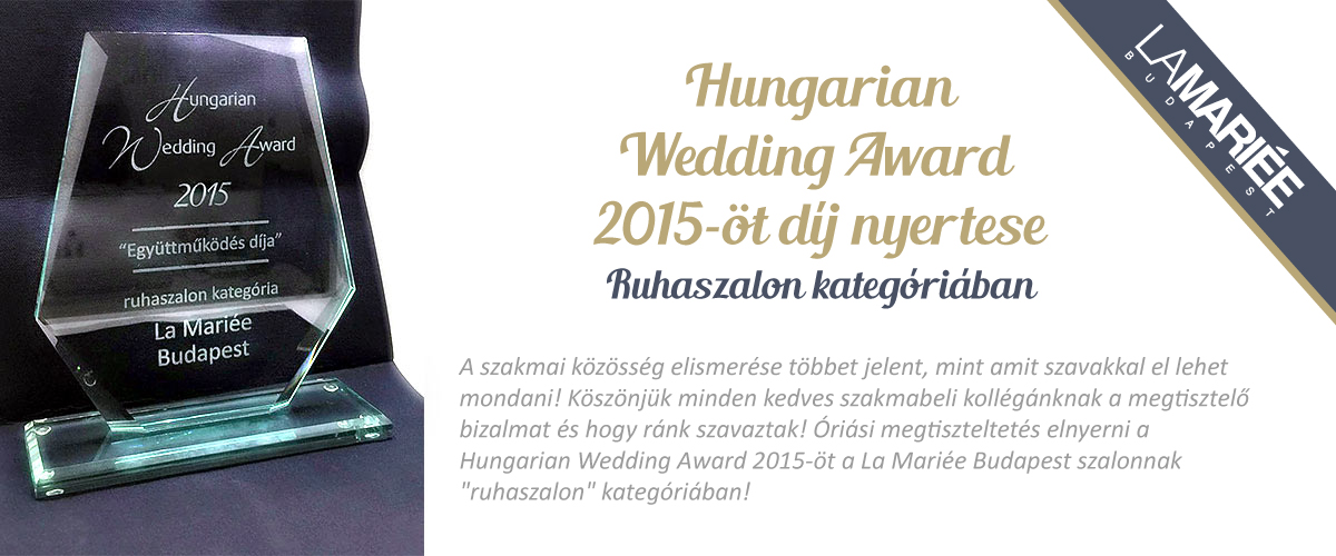 Hungarian Award Winner 2015