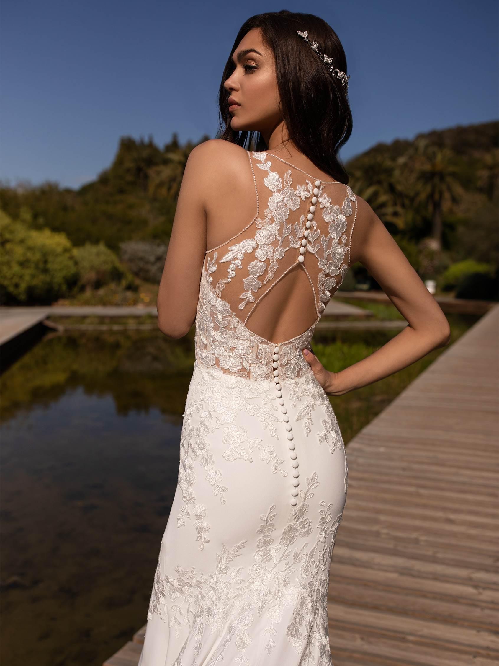 Alcyone esküvői ruha - Pronovias 2021