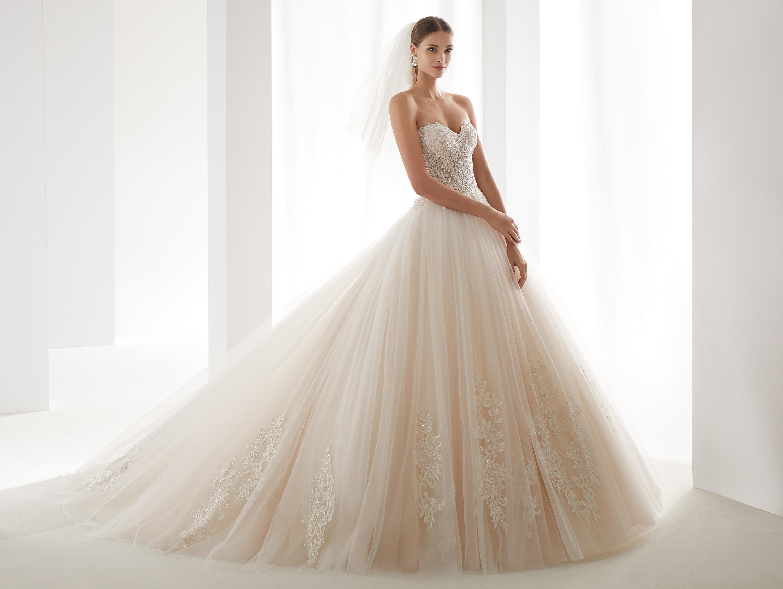 AUAB191006 menyasszonyi ruha - NICOLE SPOSE Milano kollekció