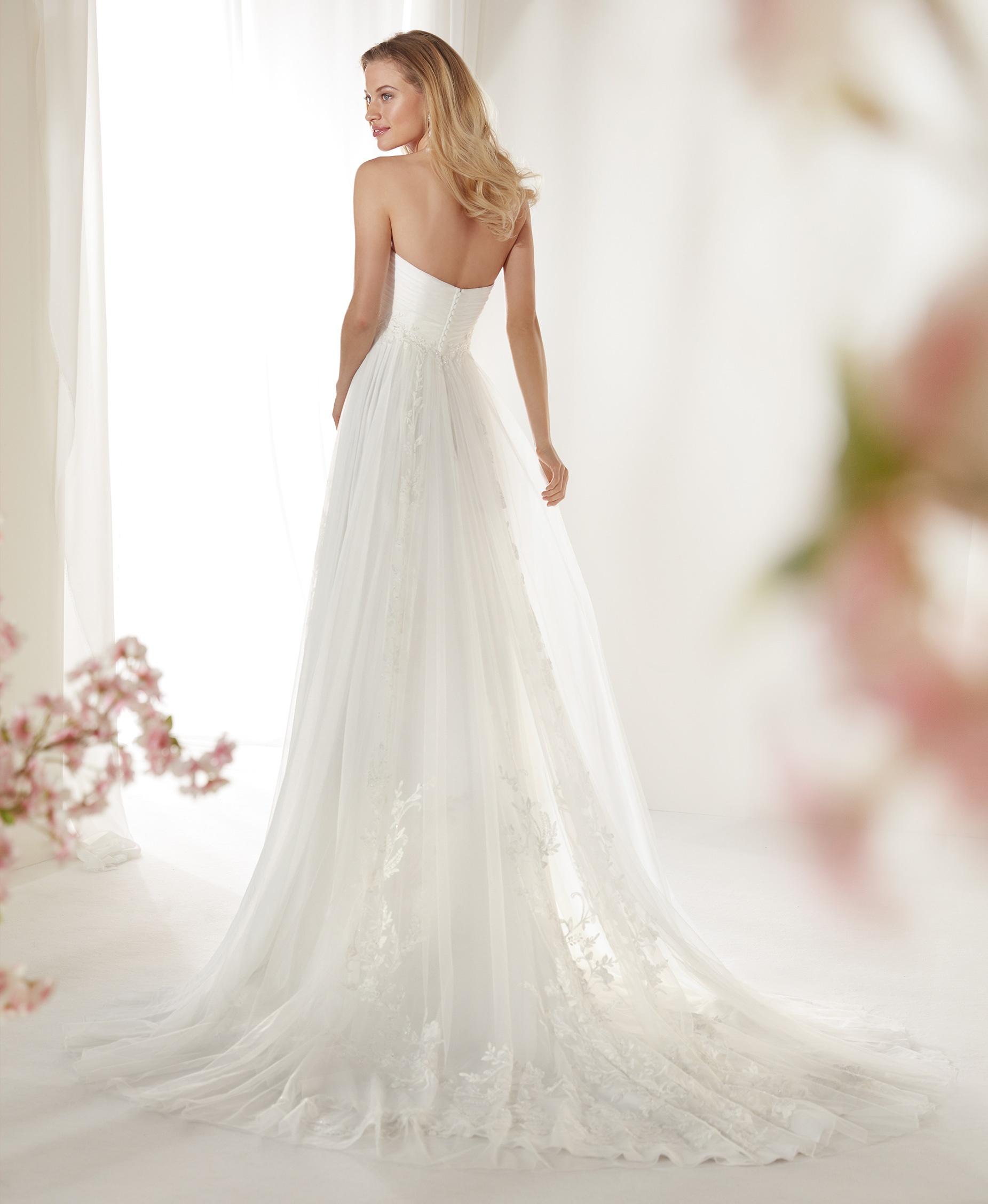 COAB19220 esküvői ruha - NICOLE SPOSE Milano kollekció