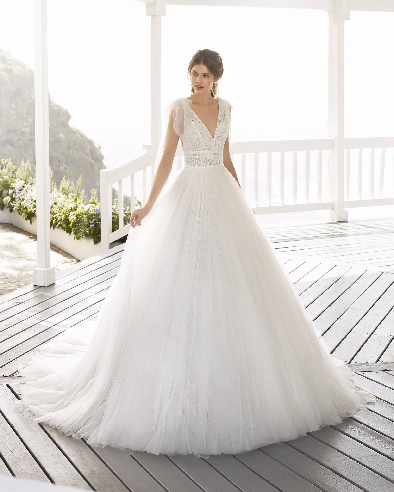 Croacia menyasszonyi ruha - Rosa Clará 2021