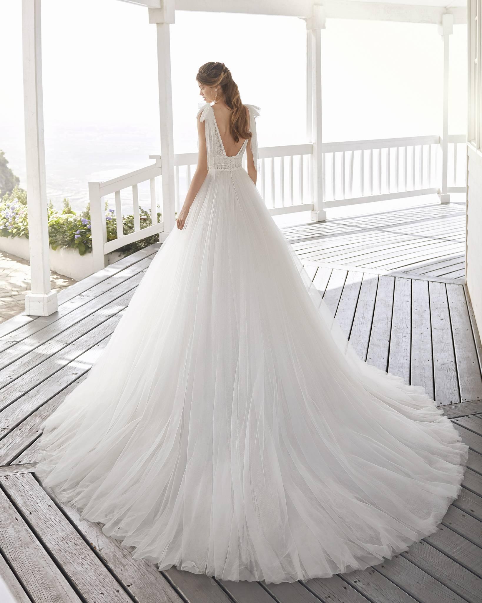 Croacia esküvői ruha - Rosa Clará 2021