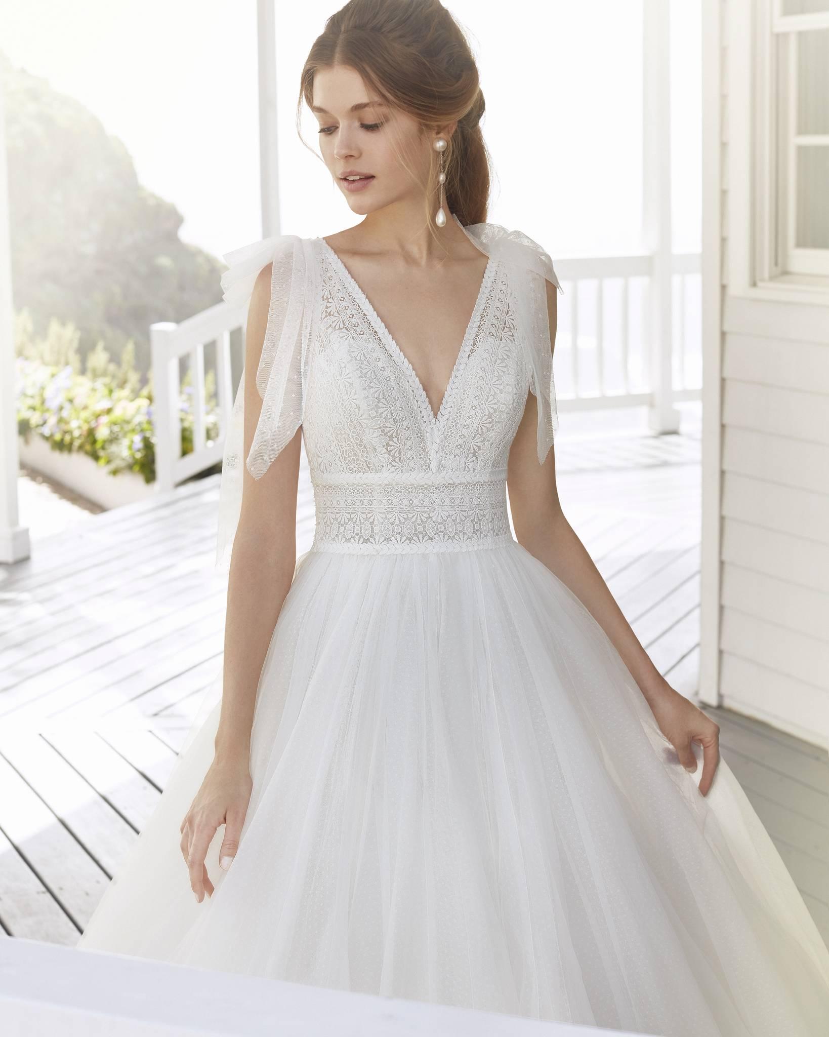 Rosa Clará 2021 menyasszonyi ruha: Croacia