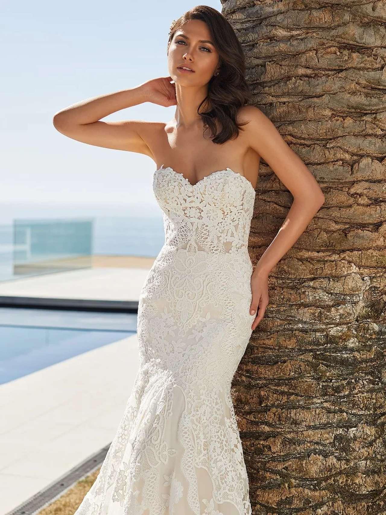Pronovias 2021 menyasszonyi ruha: Desi