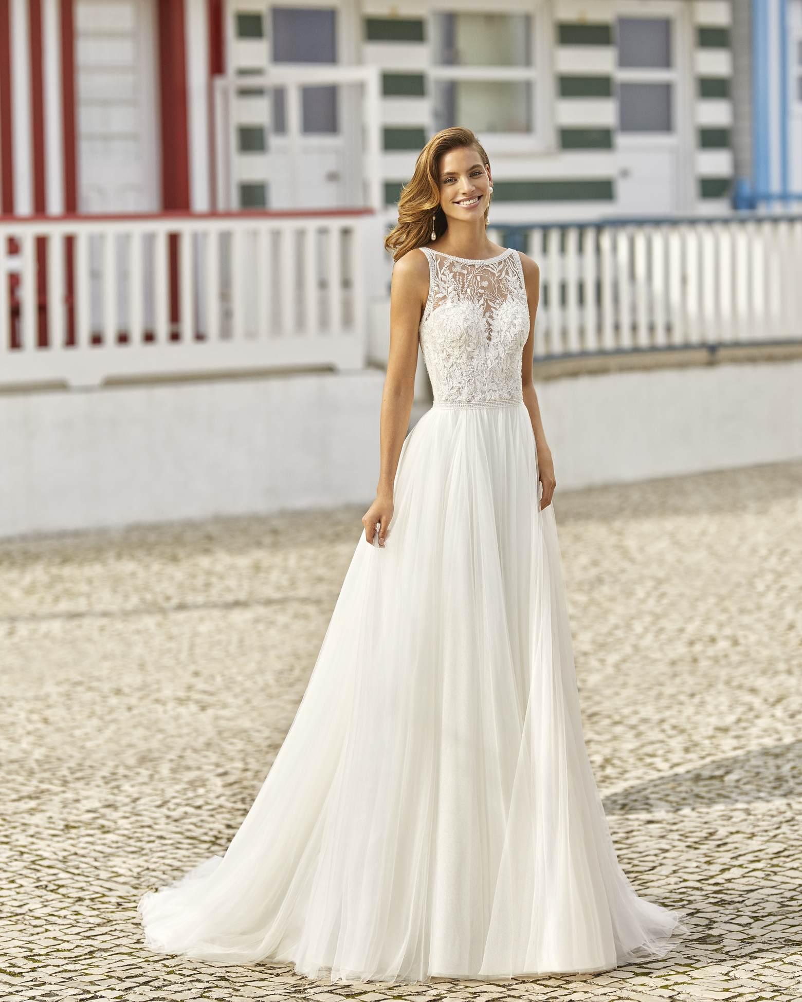 Haniel menyasszonyi ruha - Rosa Clará 2021