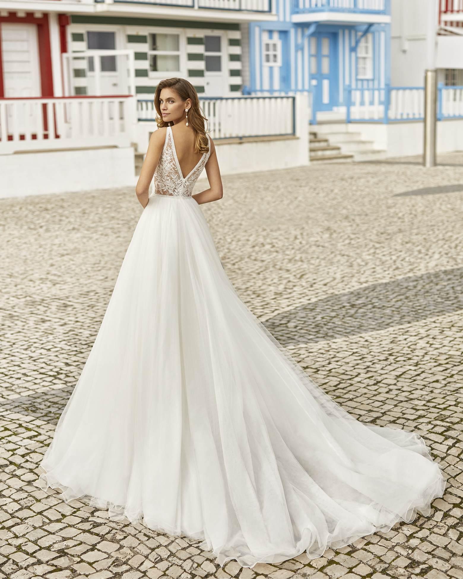 Haniel esküvői ruha - Rosa Clará 2021