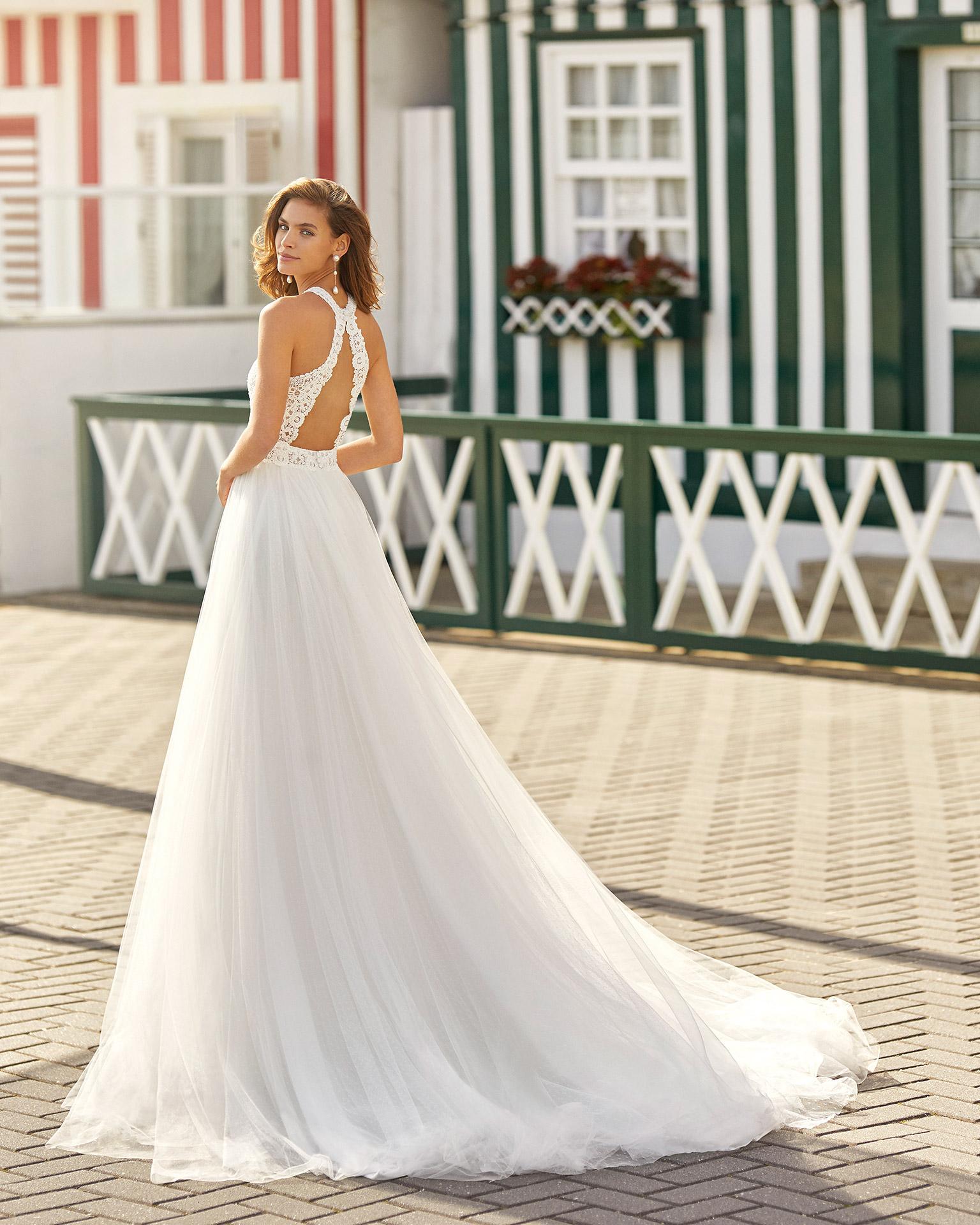 Hanna esküvői ruha - Rosa Clará 2021