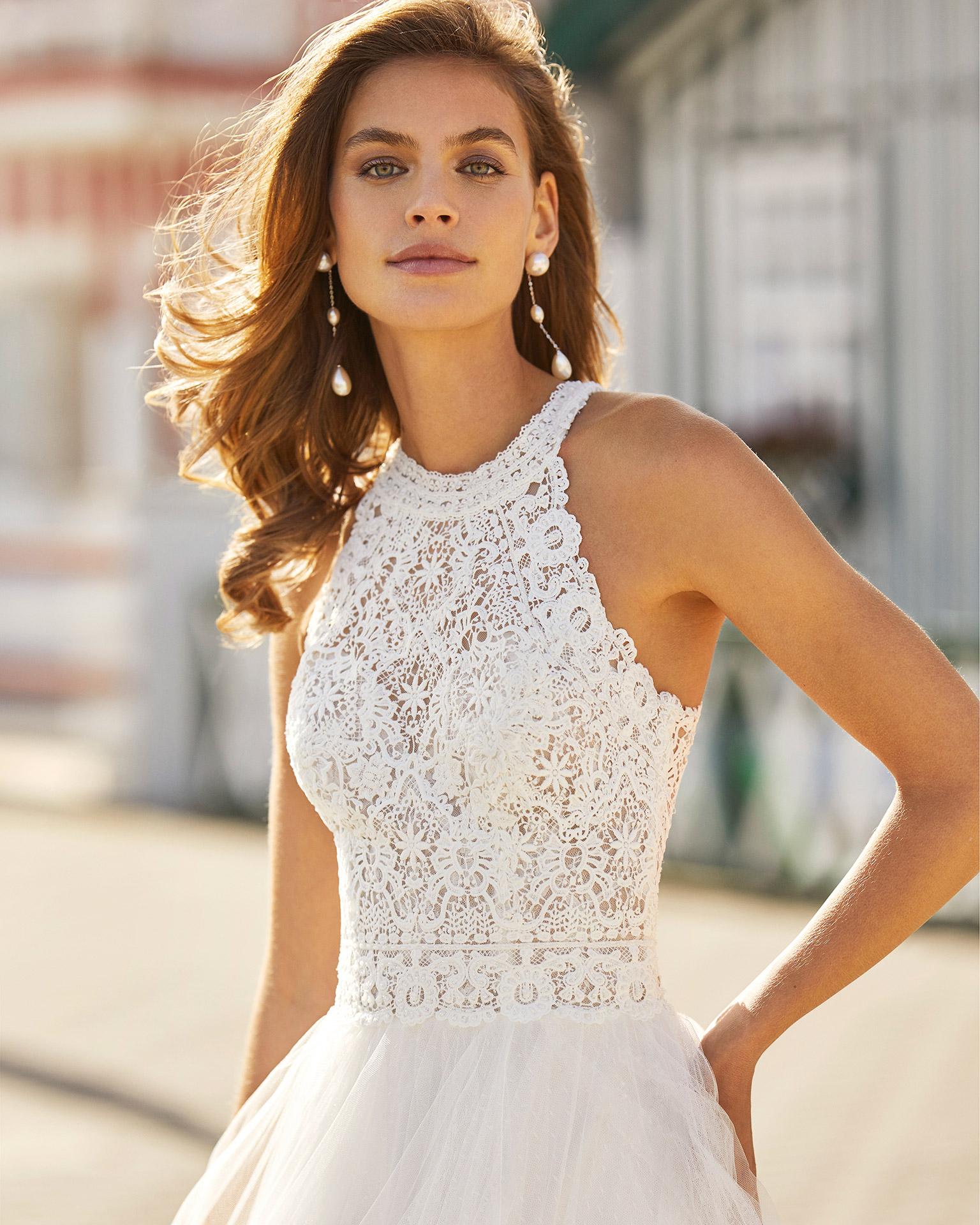 Rosa Clará 2021 menyasszonyi ruha: Hanna