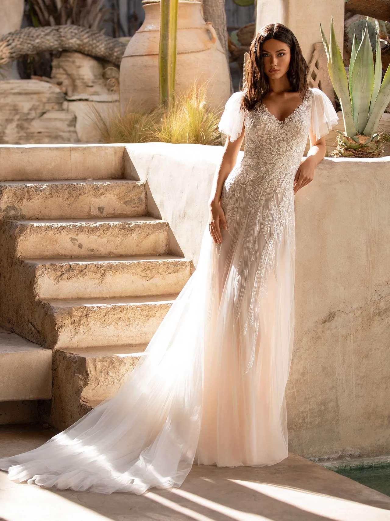 Pronovias 2021 esküvői ruha: Lake