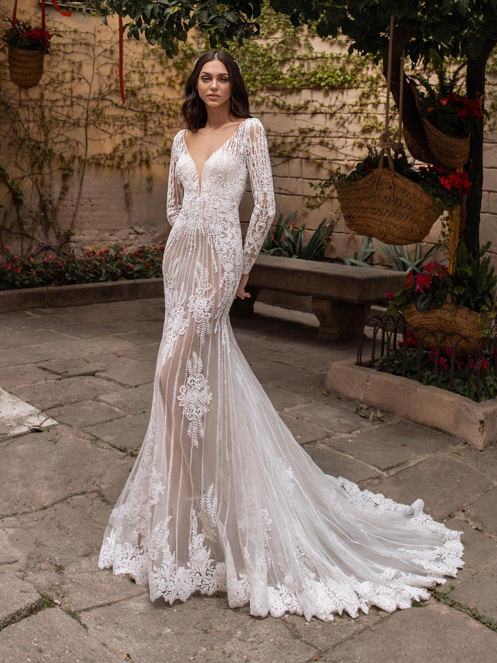 Methone menyasszonyi ruha - Pronovias 2021