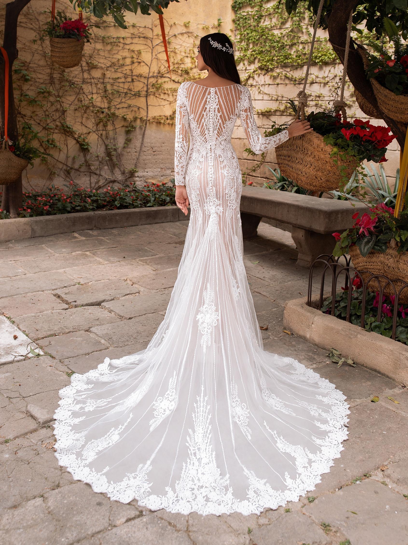 Methone esküvői ruha - Pronovias 2021