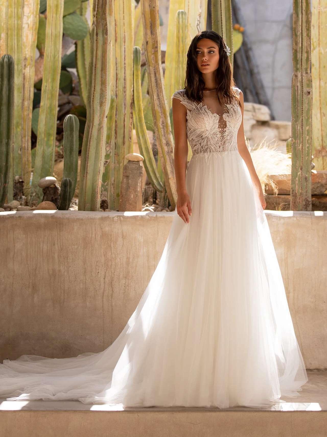 Mirren menyasszonyi ruha - Pronovias 2021