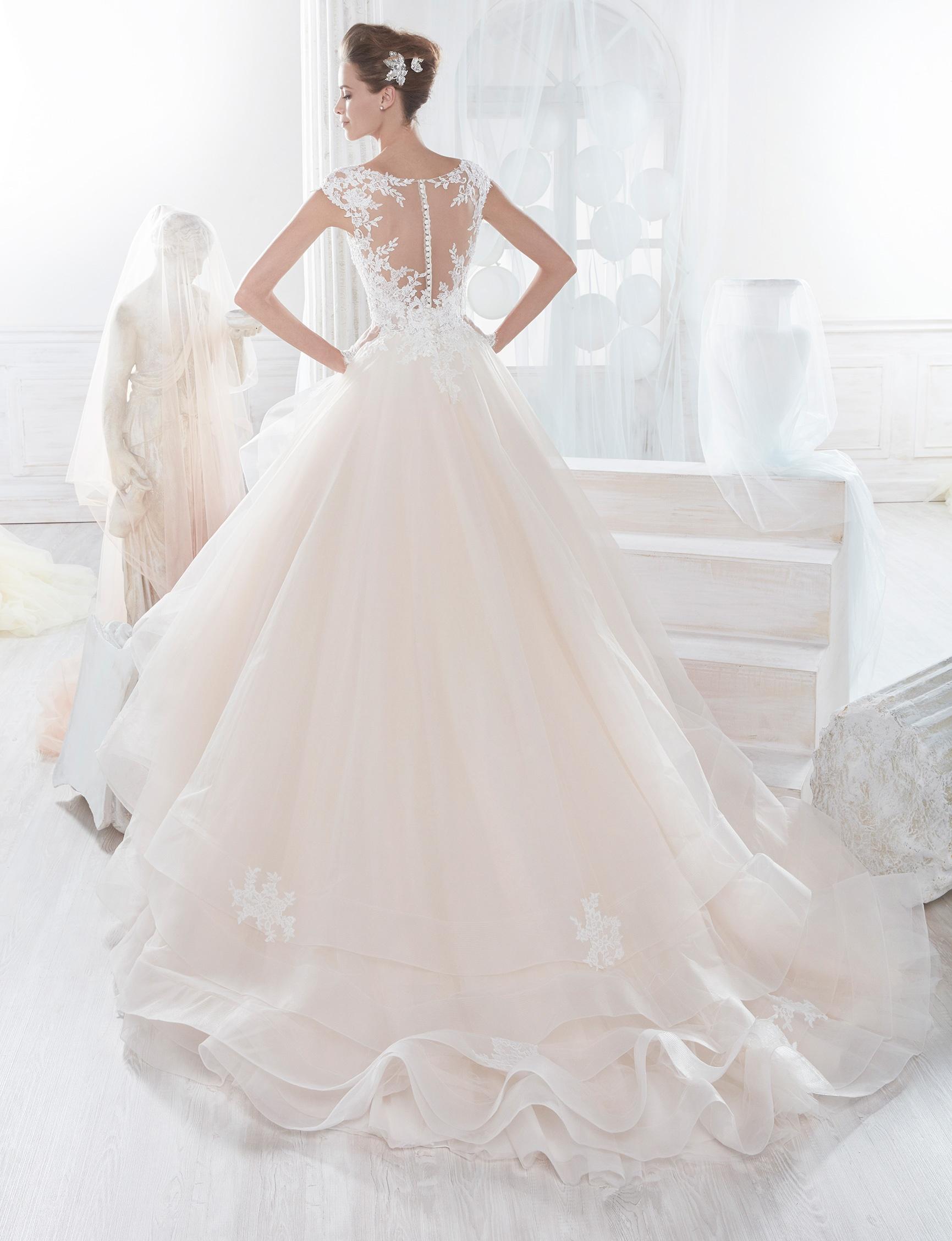 NIAB18062 esküvői ruha - NICOLE SPOSE Milano kollekció