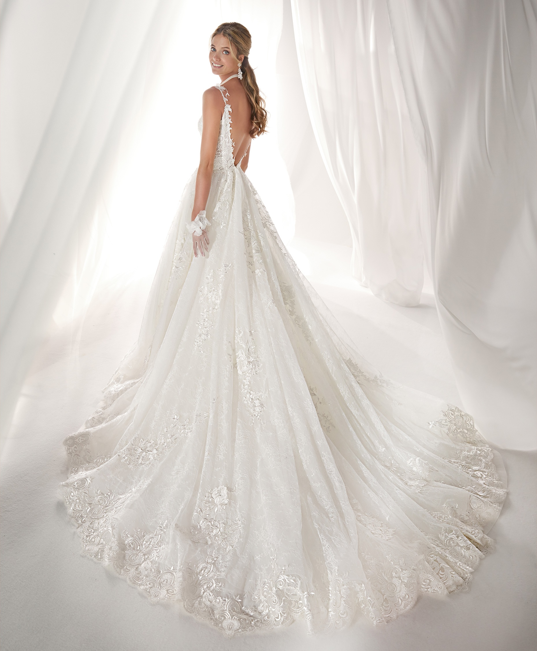 NIAB19147 esküvői ruha - NICOLE SPOSE Milano kollekció