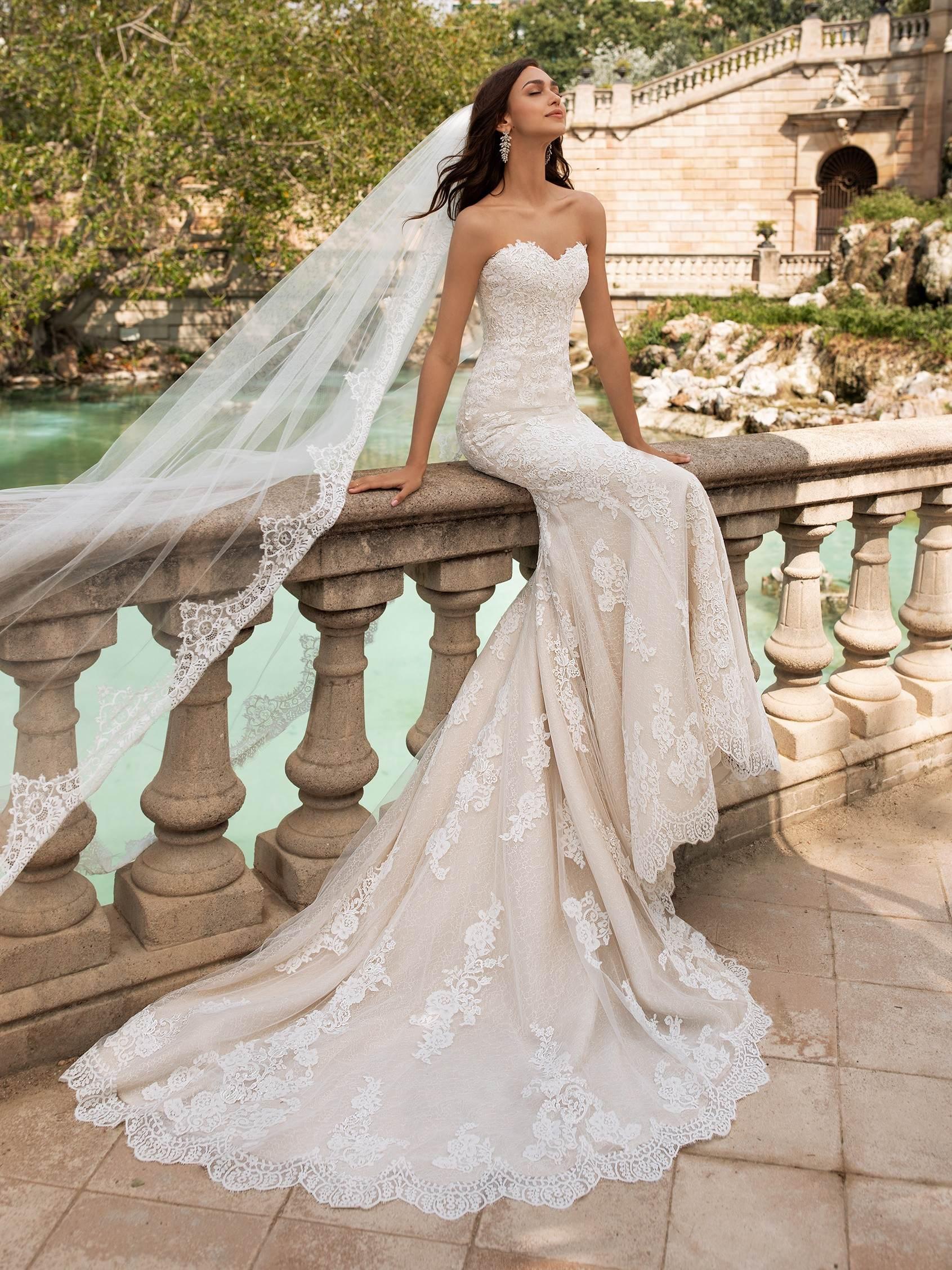Princia esküvői ruha - Pronovias 2021