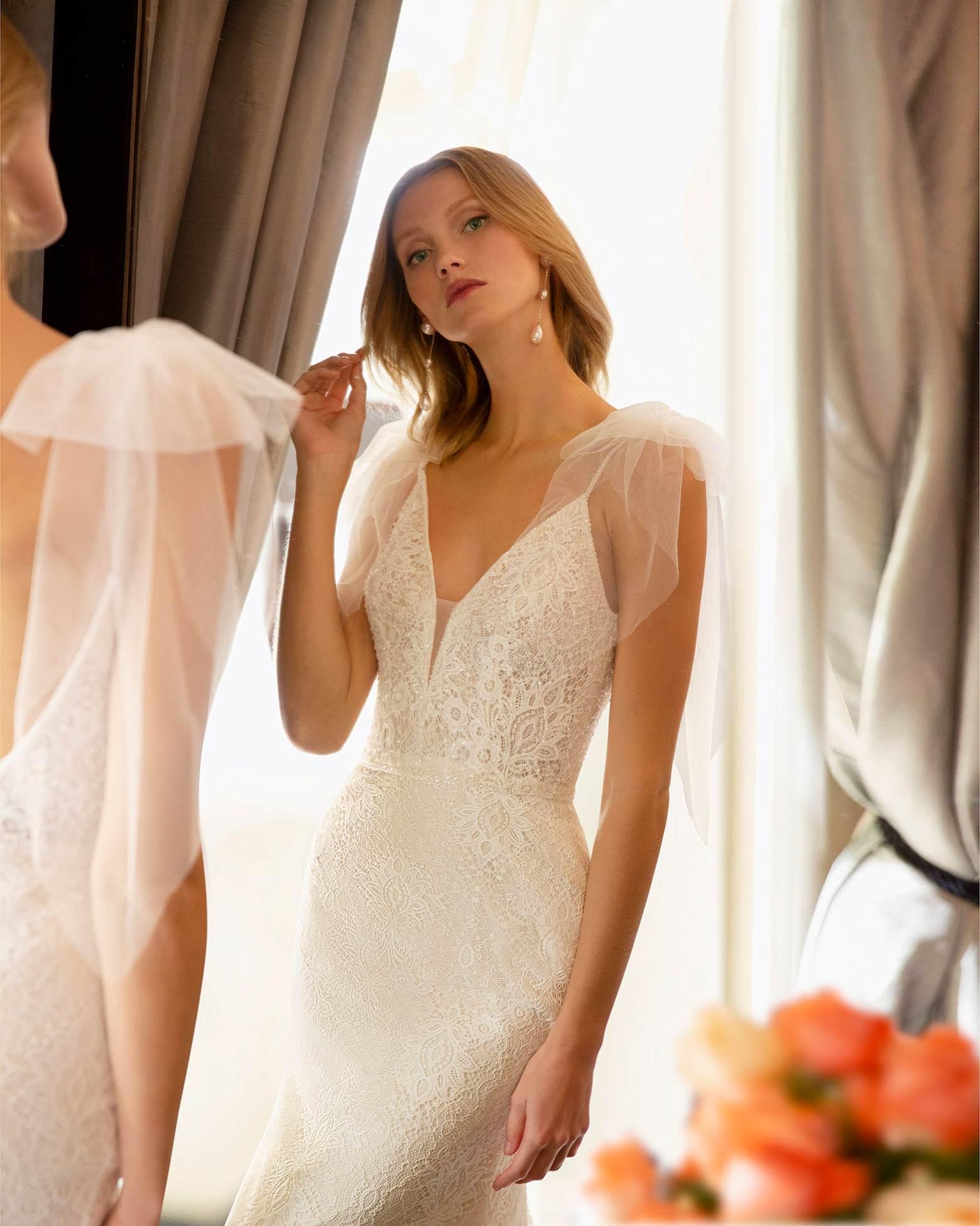 Rosa Clará 2021 menyasszonyi ruha: Ringo