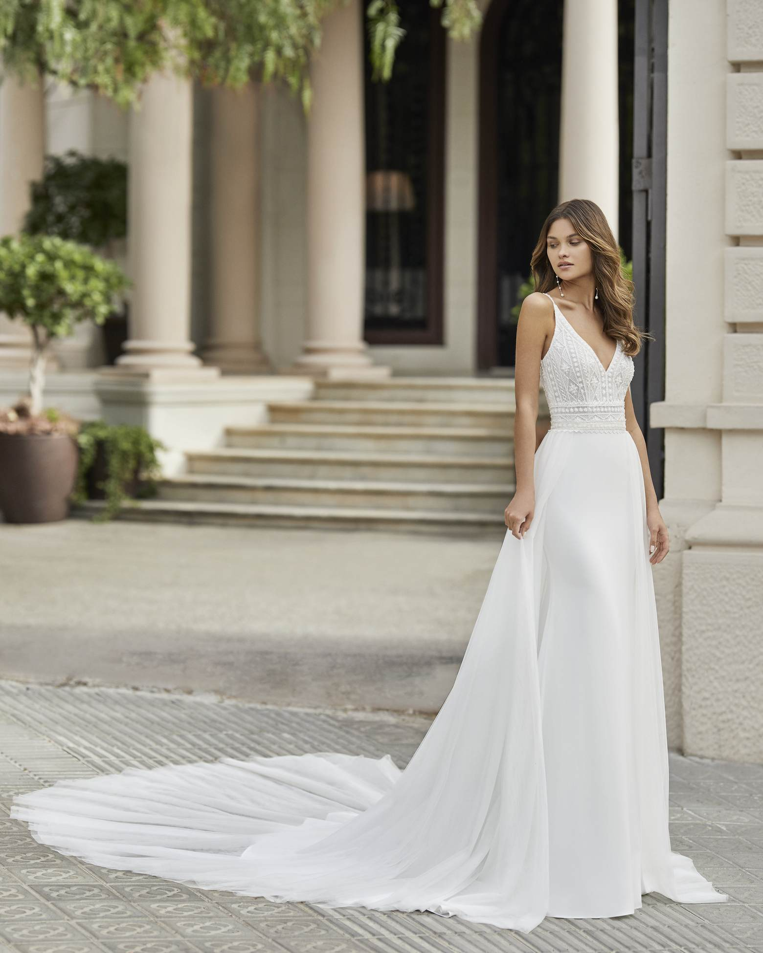 Rosa Clará 2021 menyasszonyi ruha: Tango