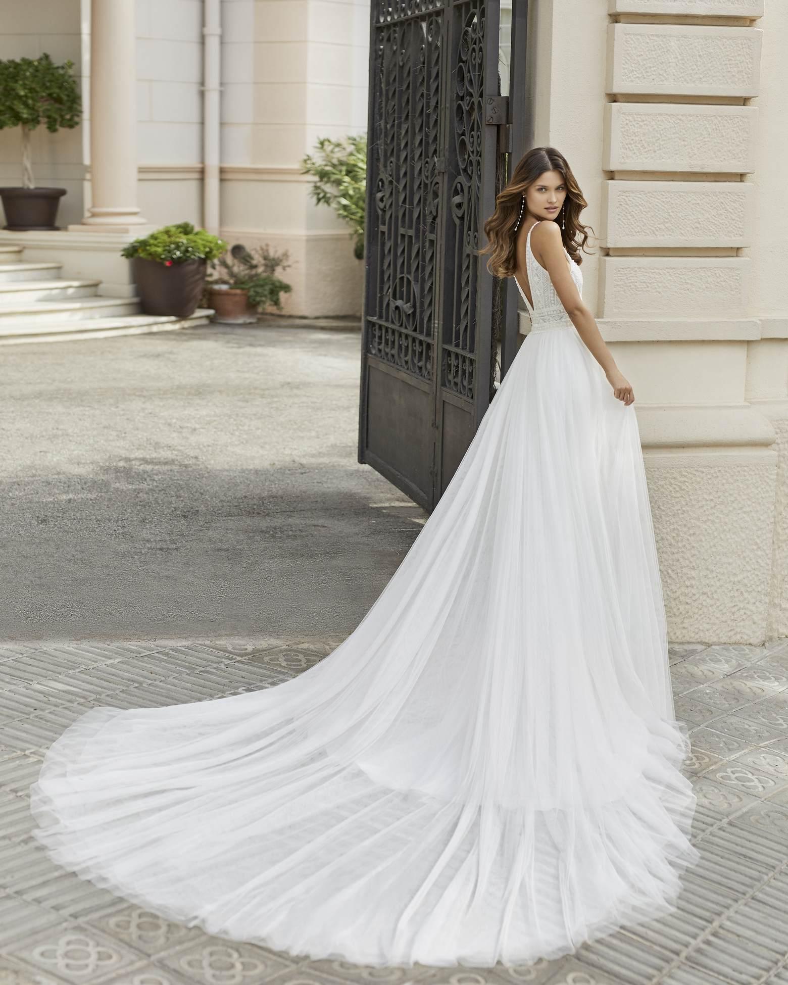 Rosa Clará 2021 esküvői ruha: Tango