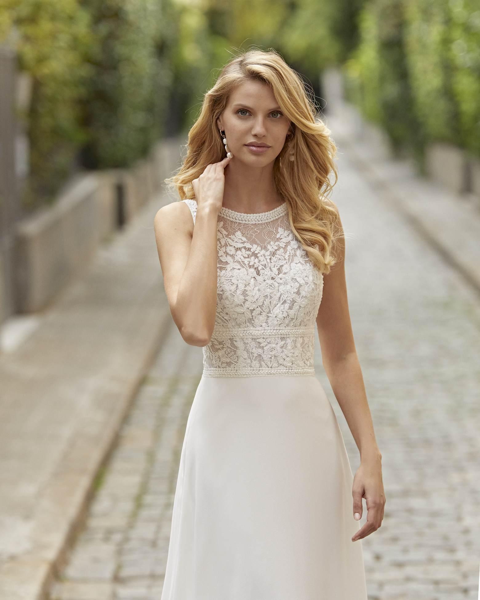 Rosa Clará 2021 menyasszonyi ruha: Tanos