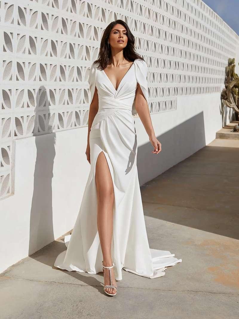 Esküvői ruha bérlés, vásárlás – Pronovias 2021-es kollekció: Abby menyasszonyi ruha