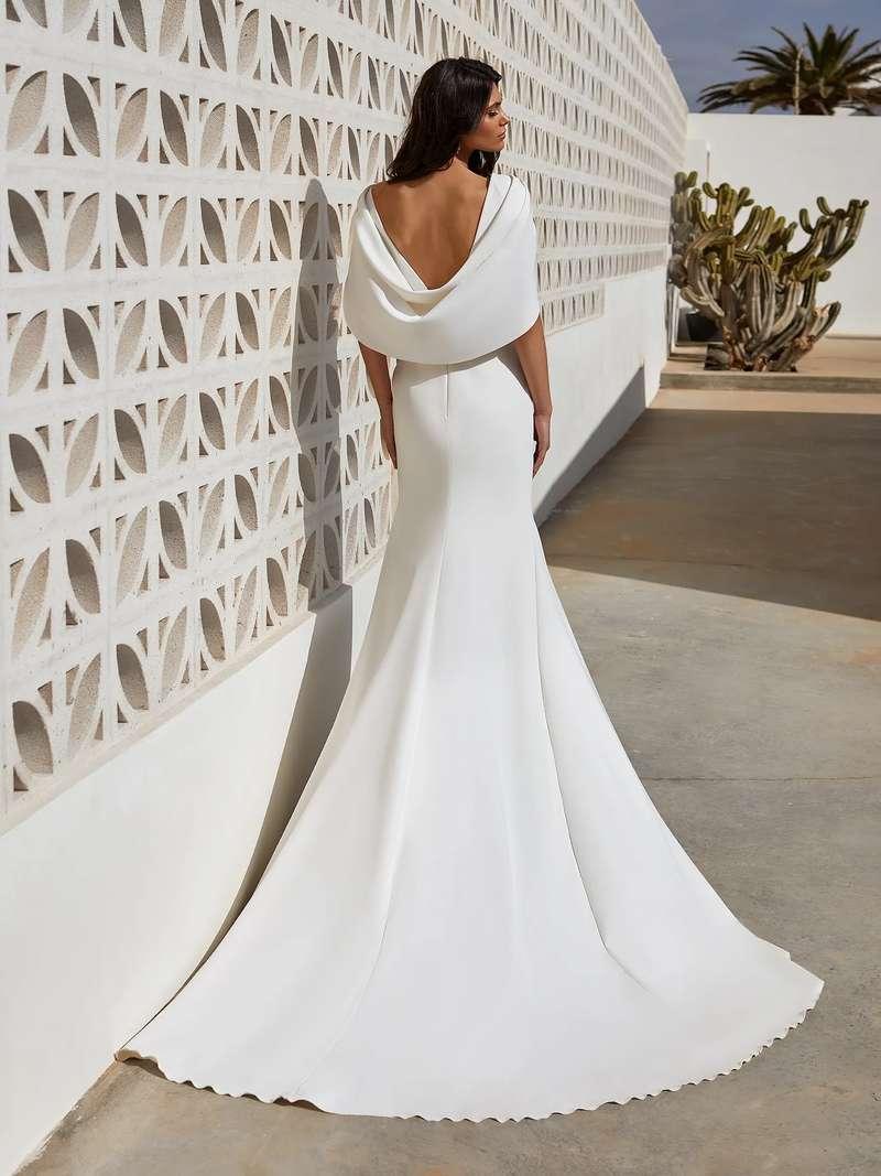 Esküvői ruha bérlés, vásárlás – Pronovias 2021-es kollekció: Abby eskövői ruha