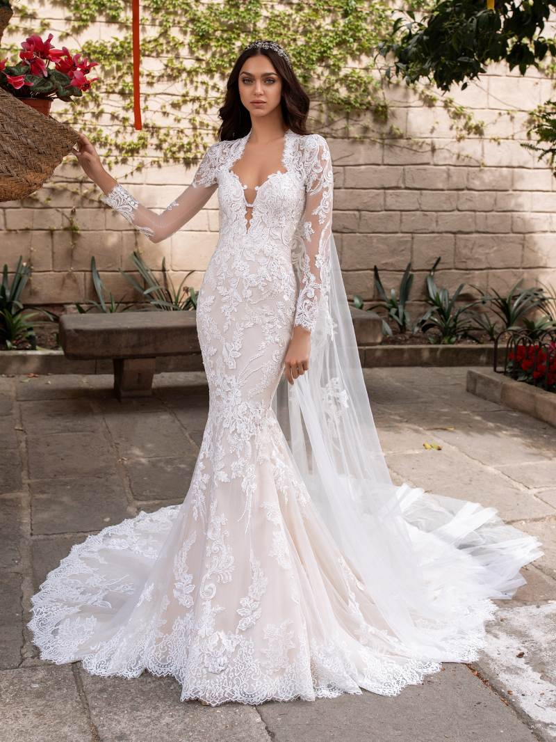 Esküvői ruha bérlés, vásárlás – Pronovias 2021-es kollekció: Aegir menyasszonyi ruha