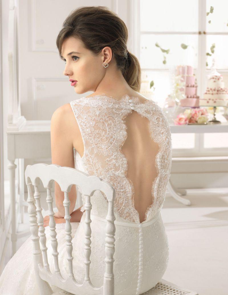 Rosa Clará Aire előfoglalási kedvezmények - La Mariée esküvői ruhaszalon Budapest: Aman eskövői ruha