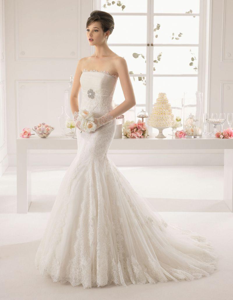 Rosa Clará Aire előfoglalási kedvezmények - La Mariée esküvői ruhaszalon Budapest: Amaya menyasszonyi ruha