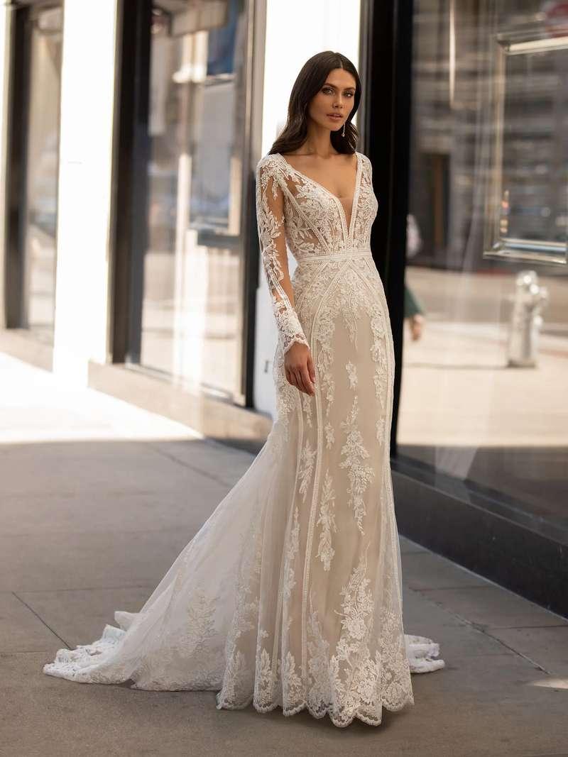 Esküvői ruha bérlés, vásárlás – Pronovias 2021-es kollekció: Andrews menyasszonyi ruha