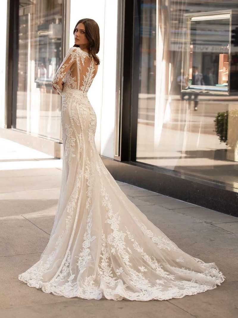 Esküvői ruha bérlés, vásárlás – Pronovias 2021-es kollekció: Andrews eskövői ruha