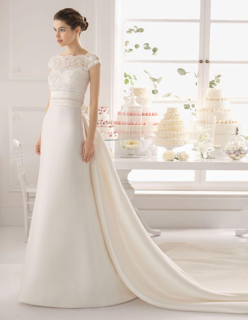 Rosa Clará Aire előfoglalási kedvezmények - La Mariée esküvői ruhaszalon Budapest: Arlette menyasszonyi ruha