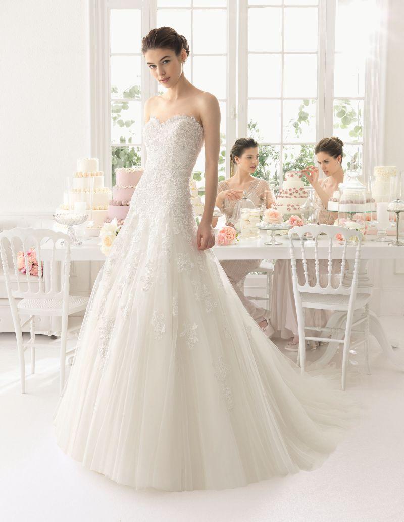 Rosa Clará Aire előfoglalási kedvezmények - La Mariée esküvői ruhaszalon Budapest: Azac menyasszonyi ruha