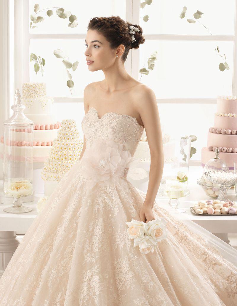 Rosa Clará Aire előfoglalási kedvezmények - La Mariée esküvői ruhaszalon Budapest: Azucena menyasszonyi ruha