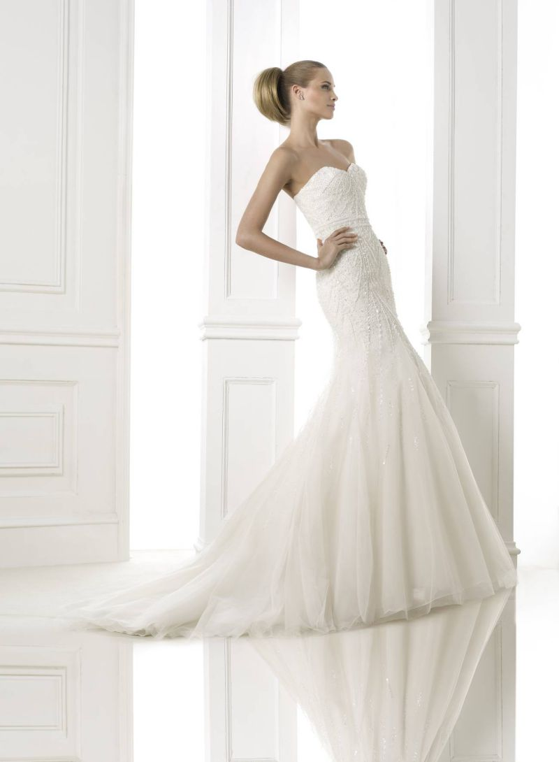 Pronovias előfoglalás - La Mariée esküvői ruhaszalon: Babia eskövői ruha