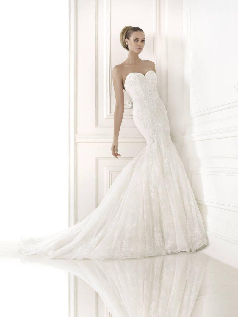 Pronovias előfoglalás - La Mariée esküvői ruhaszalon: Bertina eskövői ruha