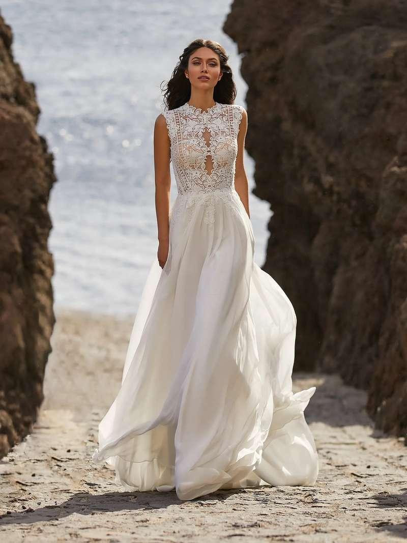 Esküvői ruha bérlés, vásárlás – Pronovias 2021-es kollekció: Bette menyasszonyi ruha