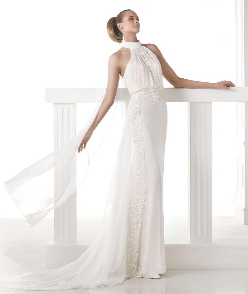 Pronovias Atelier mennyasszonyi ruha kollekció: Ciclamen menyasszonyi ruha