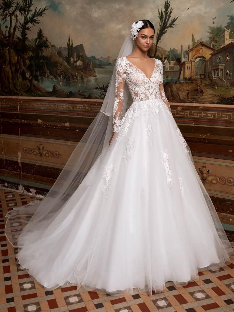 Esküvői ruha bérlés, vásárlás – Pronovias 2021-es kollekció: Circinus menyasszonyi ruha