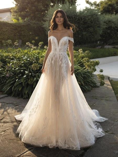 Esküvői ruha bérlés, vásárlás – Pronovias 2021-es kollekció: Cloe menyasszonyi ruha