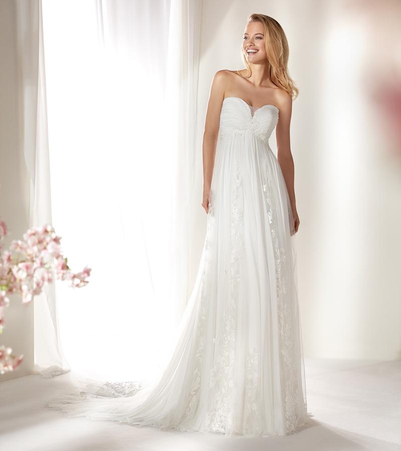 NICOLE SPOSE Milano kollekció: COAB19220 menyasszonyi ruha