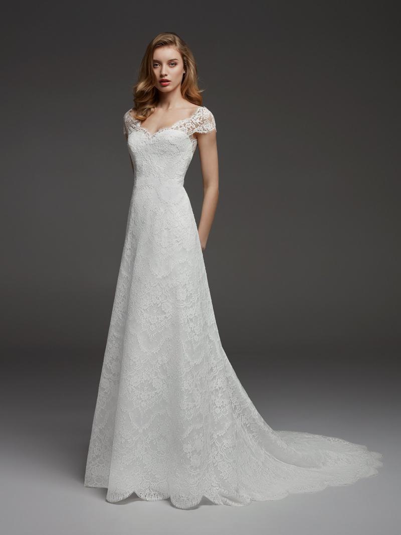 Pronovias Atelier mennyasszonyi ruha kollekció: Corazon menyasszonyi ruha