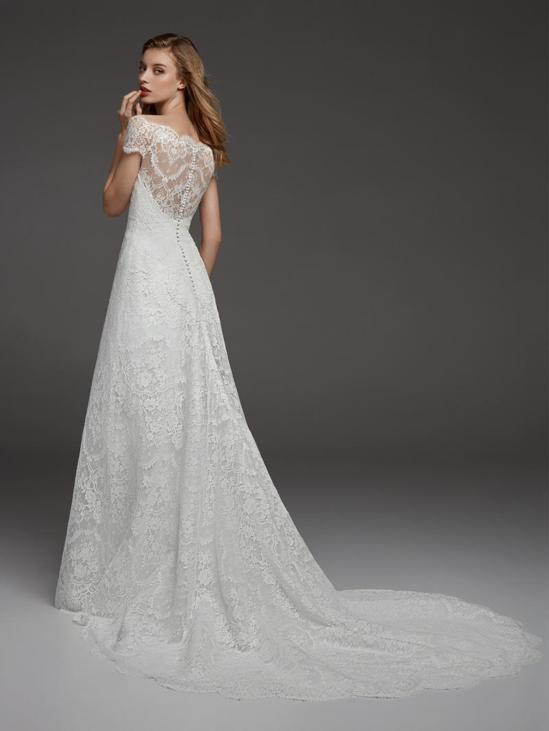 Pronovias Atelier mennyasszonyi ruha kollekció: Corazon eskövői ruha