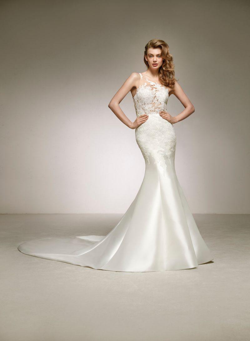 Pronovias 2018 menyasszonyi ruha kollekció: Desca menyasszonyi ruha