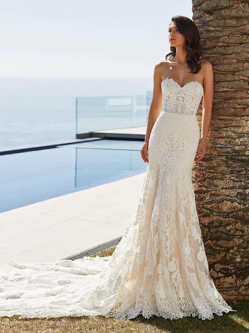 Esküvői ruha bérlés, vásárlás – Pronovias 2021-es kollekció: Desi menyasszonyi ruha
