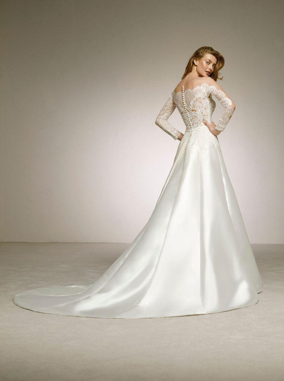Pronovias 2018 menyasszonyi ruha kollekció: Desire eskövői ruha