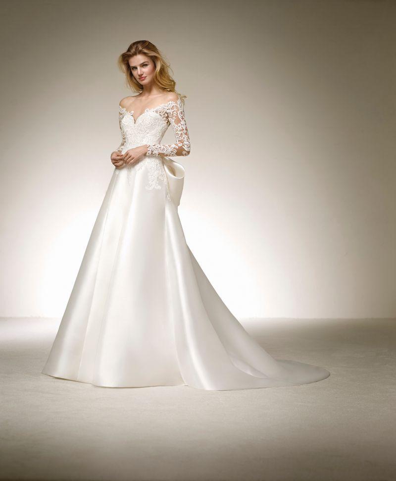 Pronovias 2018 menyasszonyi ruha kollekció: Destiny menyasszonyi ruha